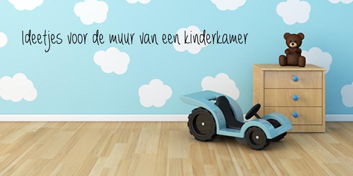Kinderkamer Verven Ideeen : Ideeën voor de muur van een kinderkamer ...