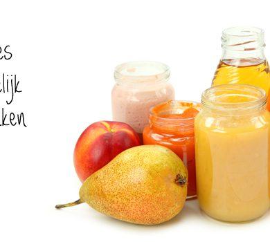fruithapje zelf maken