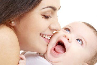 baby's eerste lach