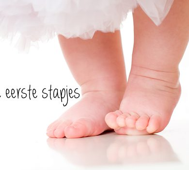 De eerste stapjes