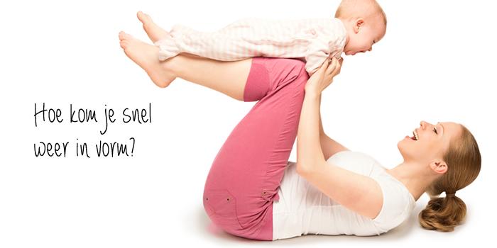 hoeveel kilo kwijt na de bevalling