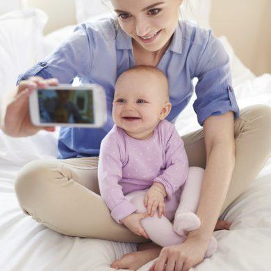 selfie met je kleintje