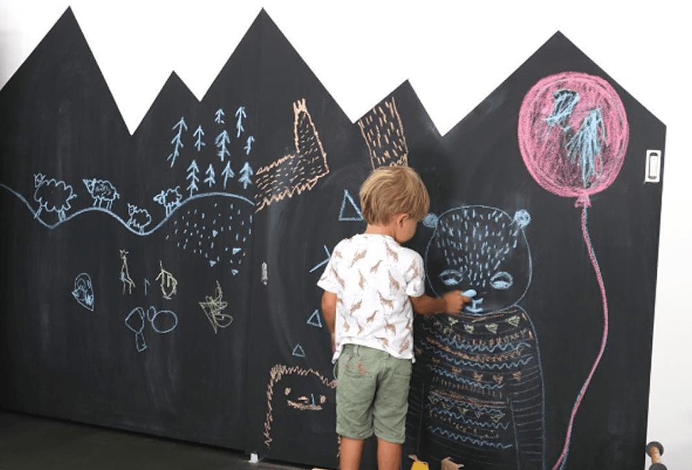 Tekst Babykamer Meuble : Babykamer sjablonen muur