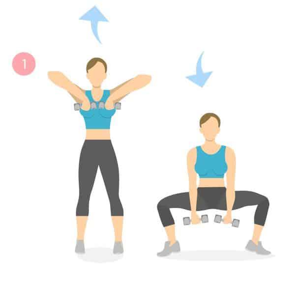 oefening voor stevige bovenarmen