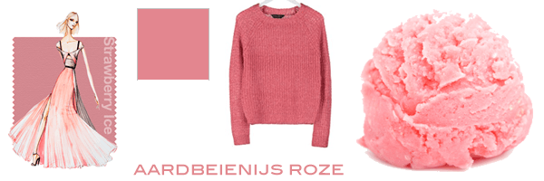 roze trendkleur lente 2015