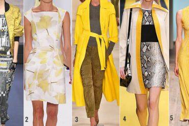 geel modekleur