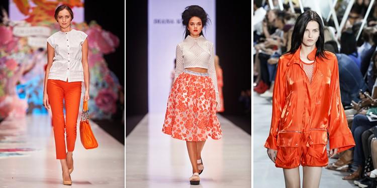trend kleur oranje