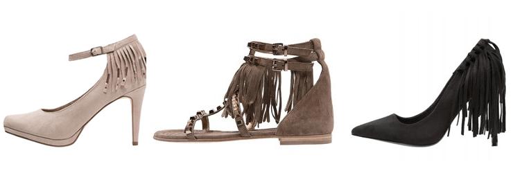 schoenen met franjes