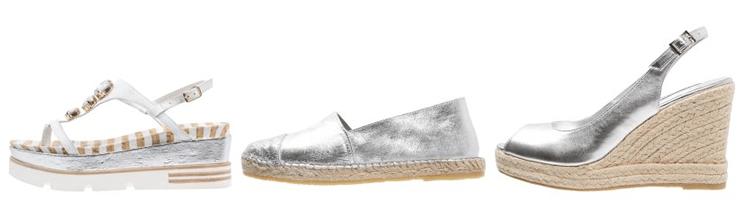 zilveren schoenen trend