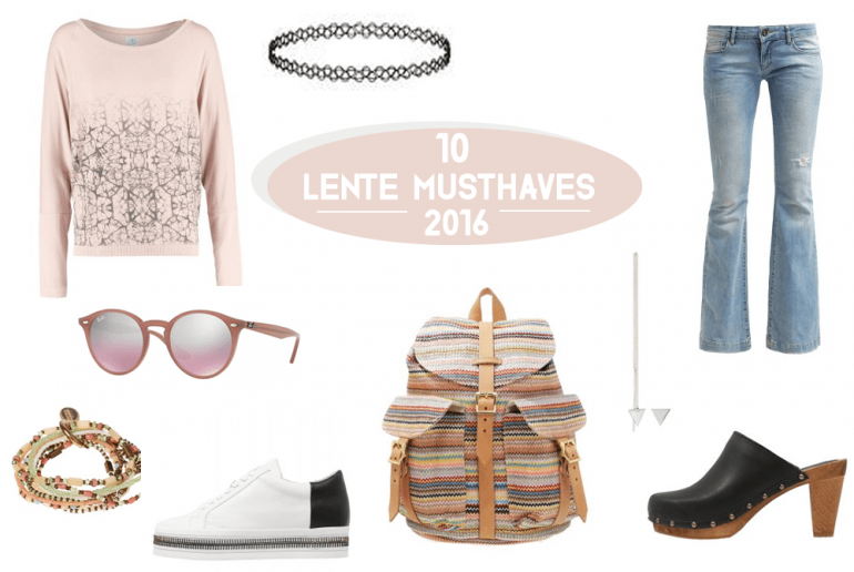 mode musthaves lente 2016