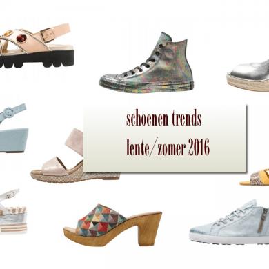trends schoenen lente zomer 2016
