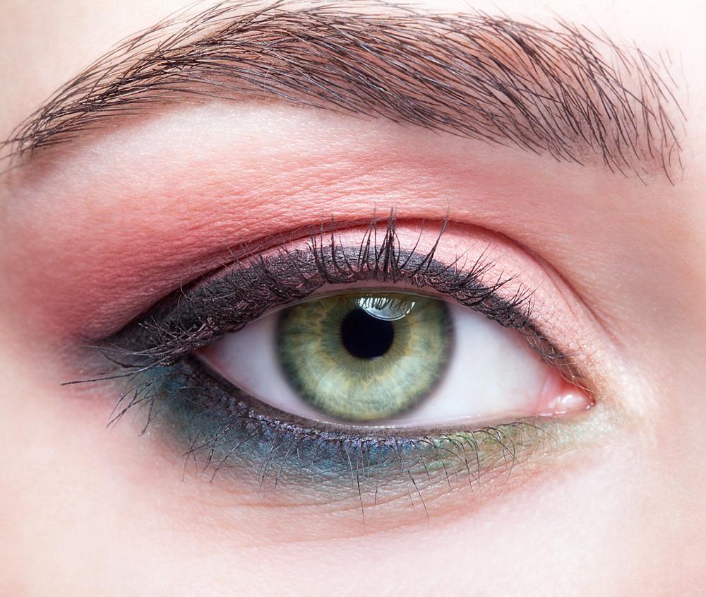 Makeup bij groene ogen, voorbeelden