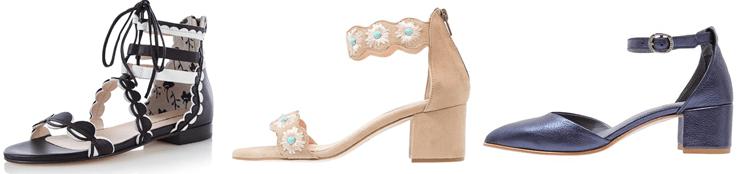 schoenen met enkelbandjes
