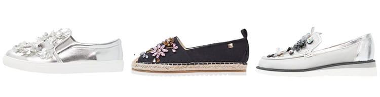 schoenen met bloemen