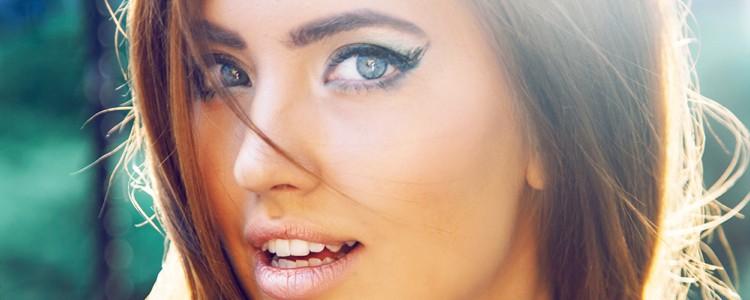 Amandelvormige ogen 1 van de 7 schoonheden