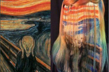 kunst op je haar
