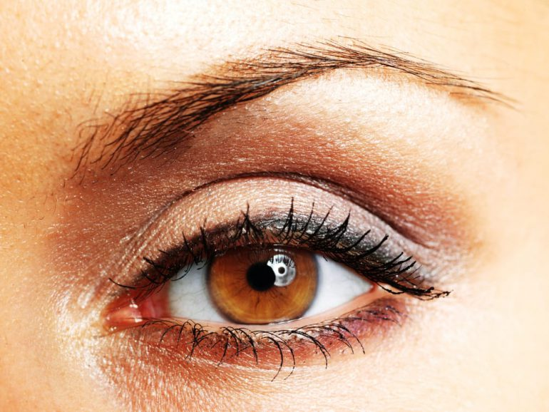 make-up bij vorm ogen
