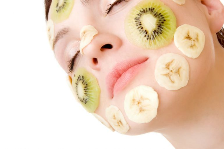fruit maskers voor je huid