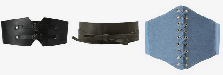 ceintuurs en waist belts