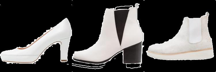 winters witte schoenen