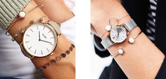 groot horloge vs klein horloge