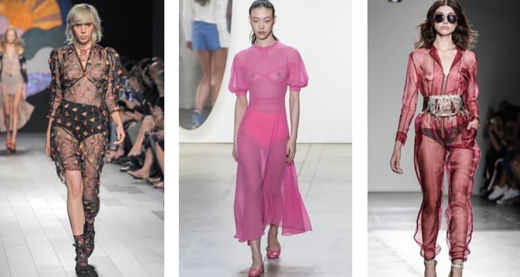 transparante kleding