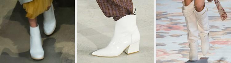 witte laarzen