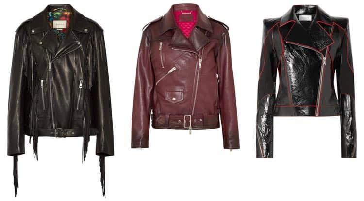 Designer biker jacks