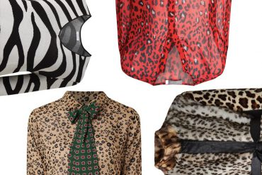 animal prints trend kleding