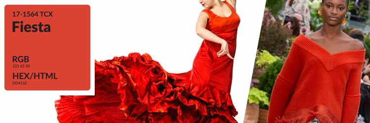 fiesta rood