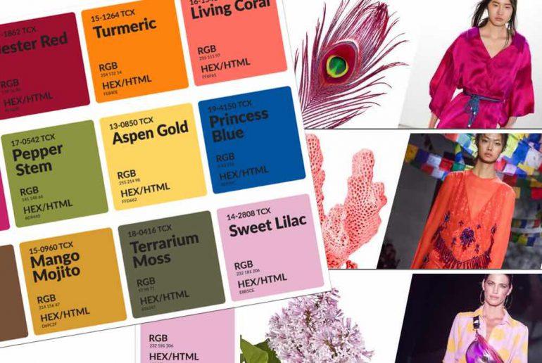 Bekend Mode kleuren lente en zomer 2019, fel en weinig pastel | Beauty @RE26