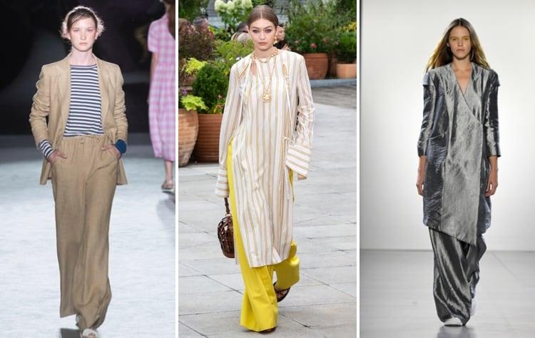pakken en tunieken modetrends lente zomer