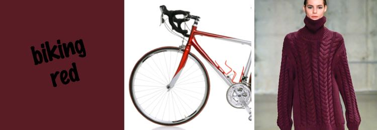 biking red
