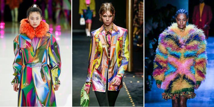 kleurige mode voor dames