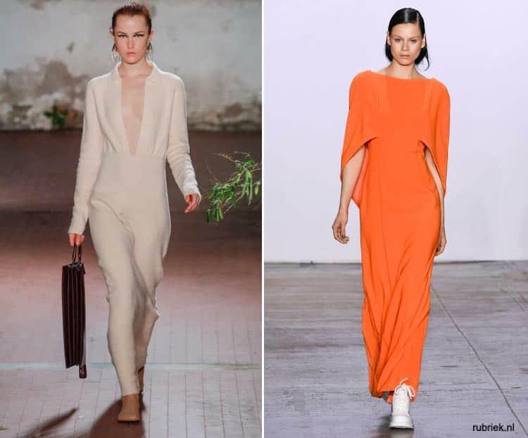 maxi jurken mode trend
