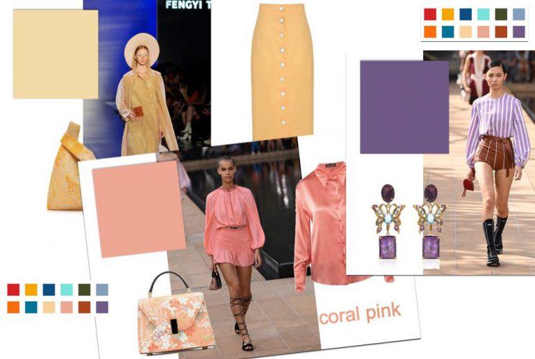 mode kleuren voorjaar 2020
