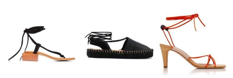 opbind schoenen lente zomer
