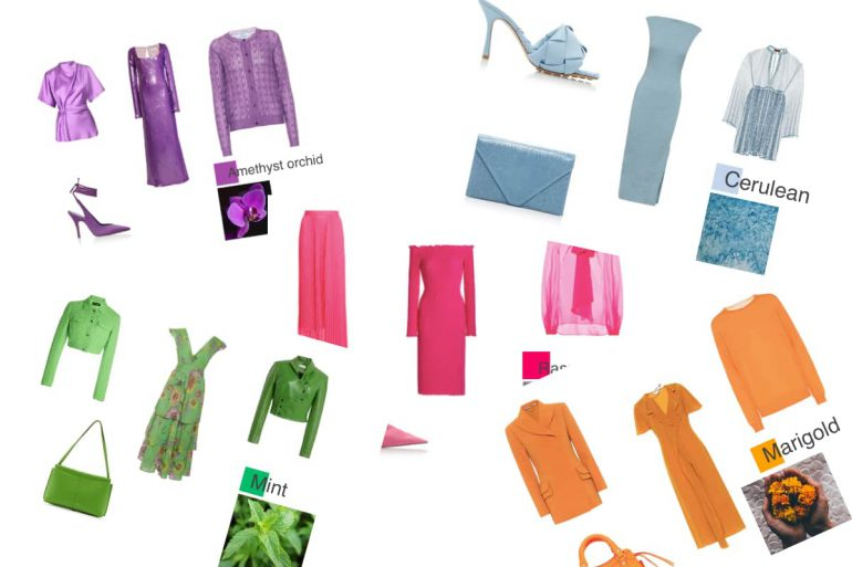 mode kleuren lente 2021