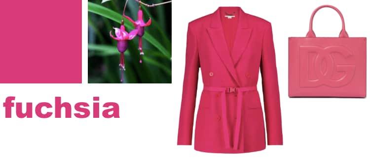 fuchsia roze trendkleur winter 2021/22