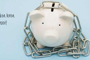 sparen bij de bank