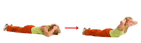 bovenlichaam strekken oefening