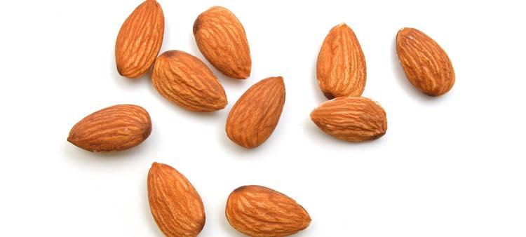 amandelen en noten
