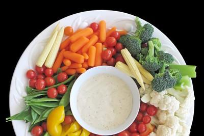groenten als snack