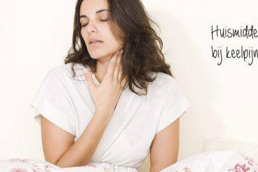 huismiddeltjes bij keelpijn