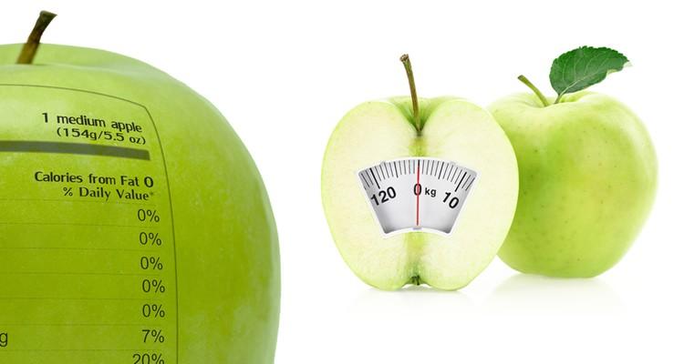 fruit met de minste en meeste calorieën