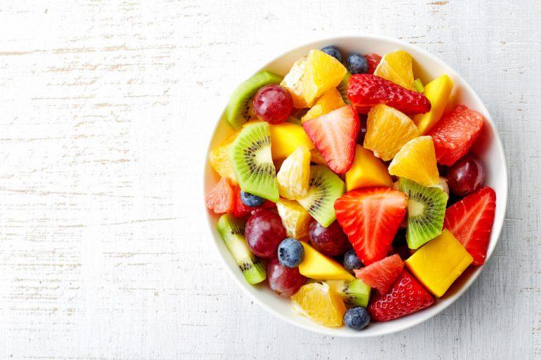 moment fruit eten