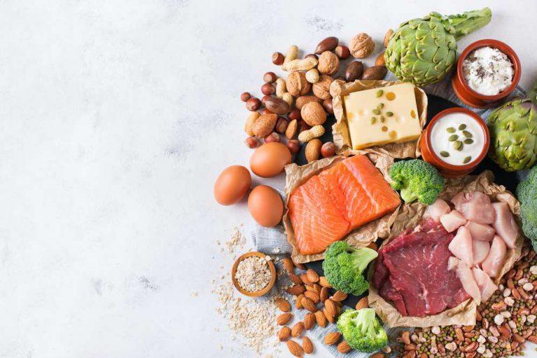 meer proteïnen eten