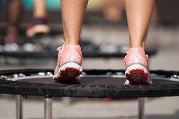 gezond sporten op trampoline
