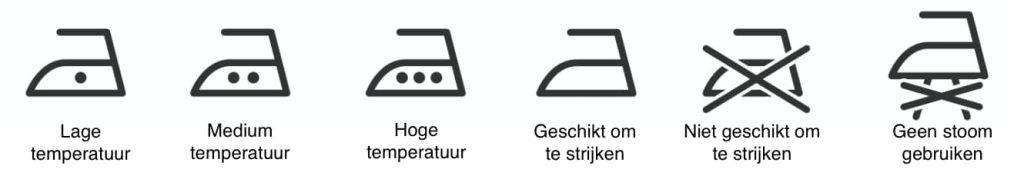 symbolen strijken