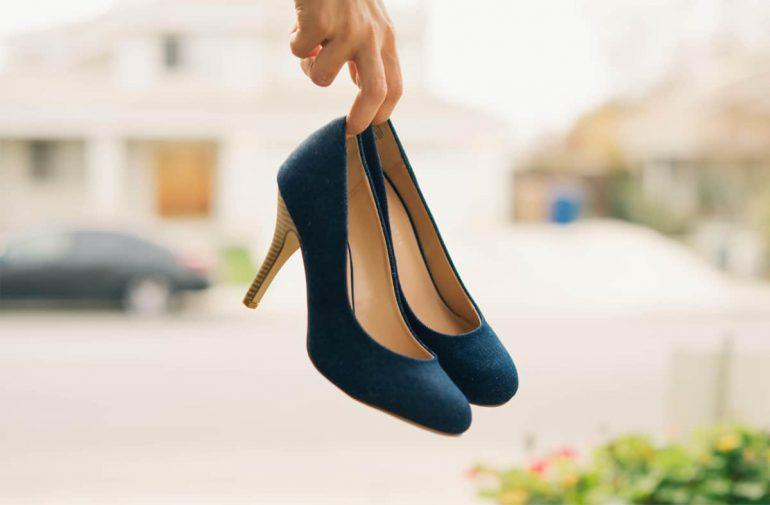 leren schoenen knellen